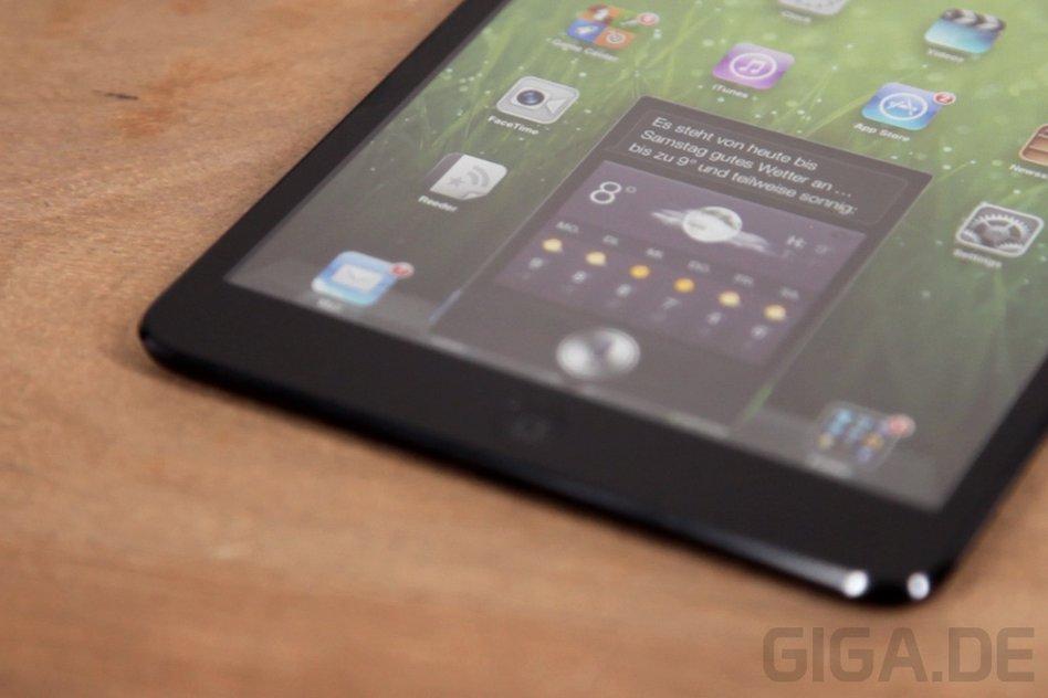 iPad mini: iOS 6