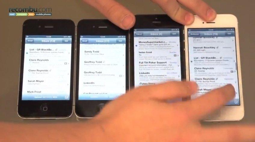 iPhone 5: Probleme mit schnellen diagonalen Fingerbewegungen