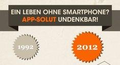 Ein Leben ohne Smartphone? Undenkbar (Infografik)