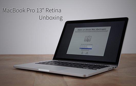 MacBook Pro 13-Zoll Retina: Unboxing des Pixelgiganten