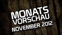 Monatsvorschau – November 2012