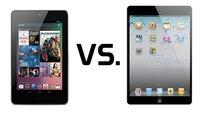 Nexus 7 vs. iPad mini im Spiele-Leistungstest