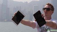 Nexus 7 vs. iPad mini im Falltest
