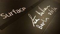 Surface-Tablet mit Steve Ballmers Autogramm für guten Zweck ersteigern