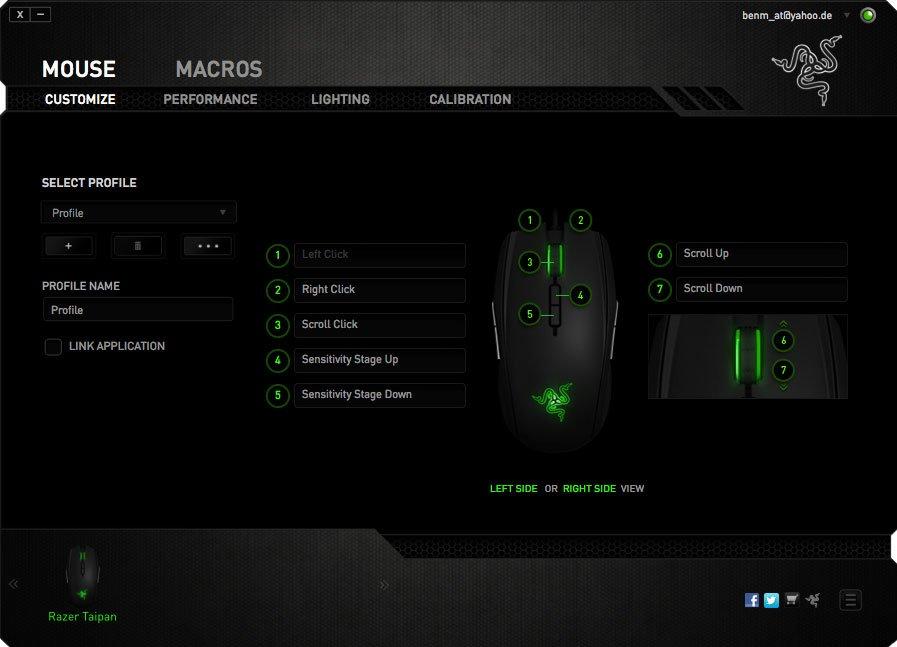Razer Synapse 2.0 - Screen 1