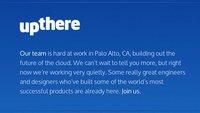 UpThere: Bertrand Serlets iCloud-Konkurrent nimmt Formen an