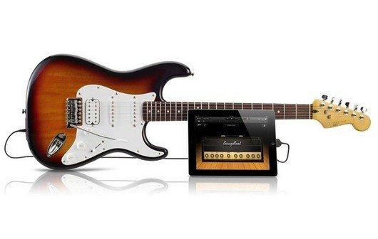 Fender stellt Stratocaster mit USB-Anschluss und iOS-Kompatibilität vor