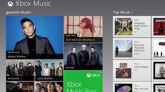 Musik-Flatrate bei Windows 8: So funktioniert Xbox Music
