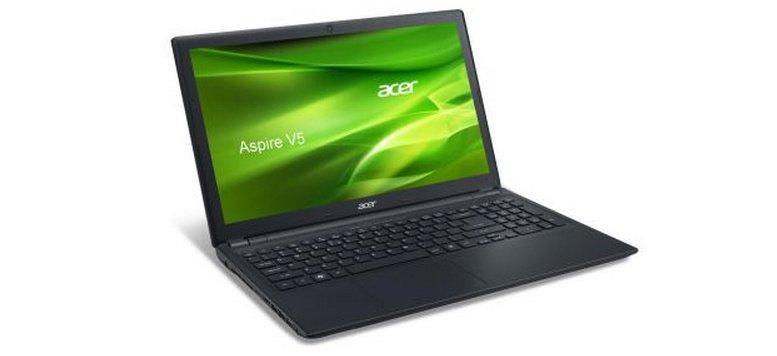 Acer Aspire V5-571G mit i3 Dual-Core und 4 GB Arbeitsspeicher für 399,00 Euro