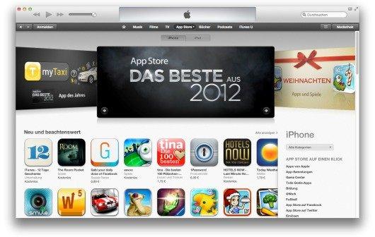 iTunes Store: 700.000 Apps und 35 Milliarden Downloads.