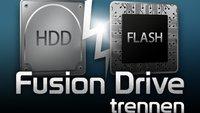 Fusion Drive rückgängig machen und trennen: How-to