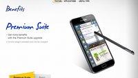 Samsung Galaxy Note - Update auf Android 4.1.2 verfügbar