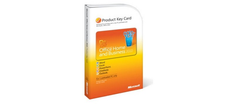 Microsoft Office 2010 Home & Business PKC für 149,99 Euro