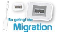 Thunderbolt-Firewire-Adapter: Daten auf neue Macs migrieren