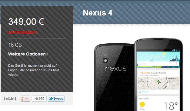 Nexus-Geräte: So überprüft ihr die Verfügbarkeit aller Geräte