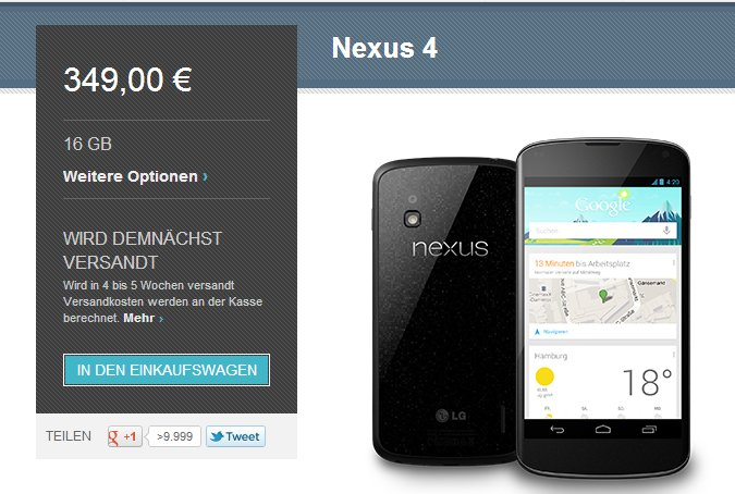 Nexus-4-vorbestellen
