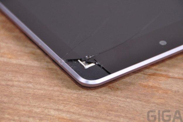 Nexus 7 zerstört: Wie man ganz schnell ein Tablet unbrauchbar macht