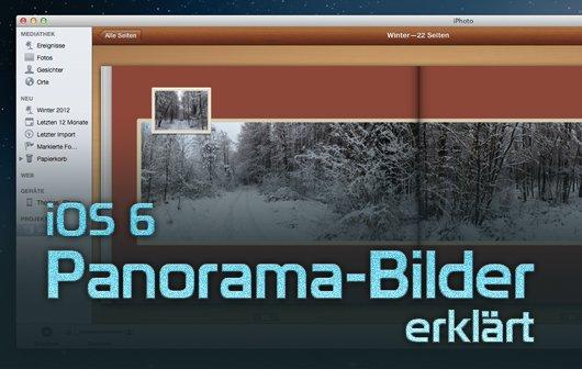 iOS 6: Panorama-Modus für iPhone und iPad - 3 Tipps
