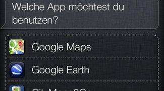 Google Maps: Routenplanung mit Siri