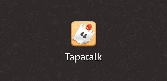 Tapatalk HD als Beta im Play Store eingetroffen