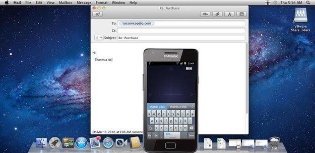 Android Smartphone als PC- oder Mac-Maus nutzen