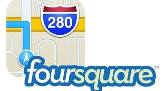 Apple Karten und Foursquare: Mögliche Kooperation