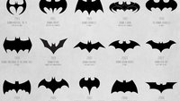 Infografik: Die Evolution des Batman-Logos