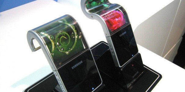 CES 2013: Biegsame Displays von Samsung
