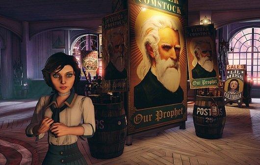 Bioshock Infinite: Treffen mit Elizabeth im VGA Trailer