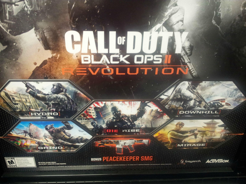 Call of Duty - Black Ops 2: Revolution DLC geleakt Call Of Duty Black Ops All Map Packs on