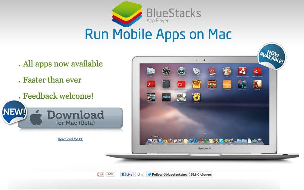 BlueStacks: Mac-Version unterstützt jetzt alle Google-Play-Apps