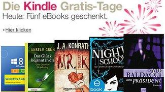 Amazon verschenkt eBooks: Kindle-Gratis-Tage vom 25.12. bis zum 6.1.