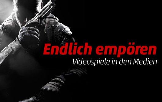 Endlich empören: Videospiele in den Medien (Kommentar)