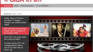 Best of GIGA \\ Film 2012: Die Top 10 des Jahres
