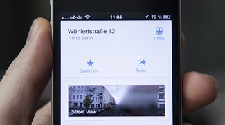 Street View in Google Maps App: Minitipp