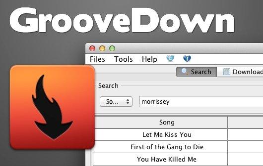 Grooveshark: Songs mit dem Mac kostenlos runterladen - GrooveDown