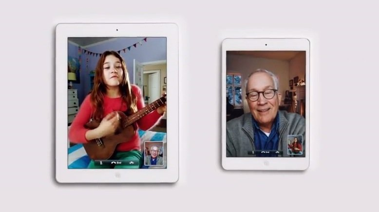 iPad mini: Apple zeigt neuen Werbespot zu Weihnachten