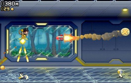 Jetpack Joyride: 1 Million Mal auf PS Vita & PS3 heruntergeladen