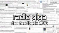 radio giga #92 - das Feedback