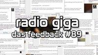 radio giga #89 - das Feedback