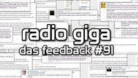 radio giga #91 - das Feedback