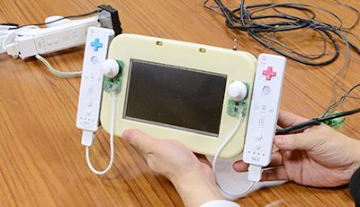 Wii U: Iwata zeigt frühen Prototyp des GamePads