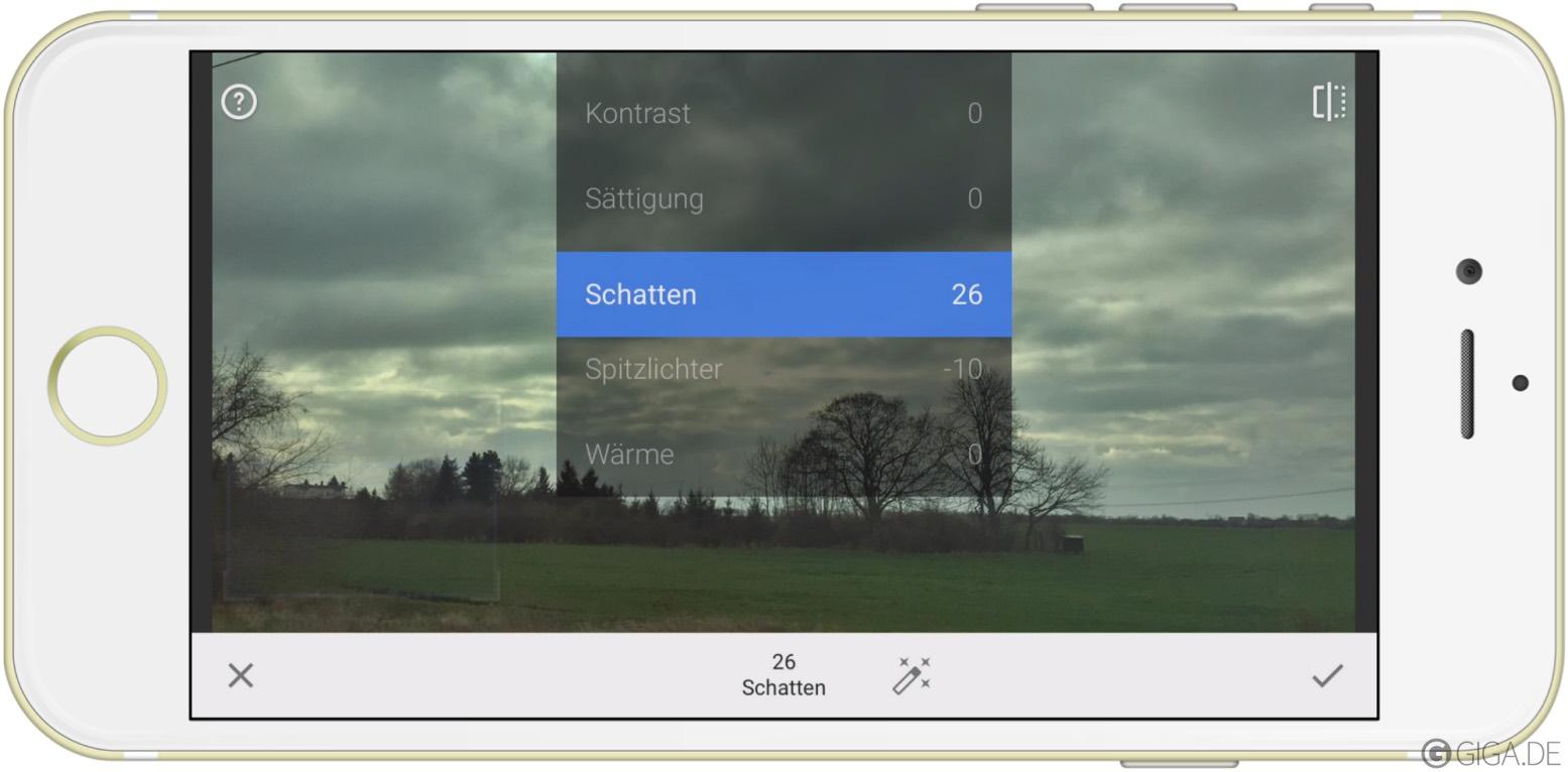 Snapseed: hochwertige Bildbearbeitung für iOS und Android Download ...