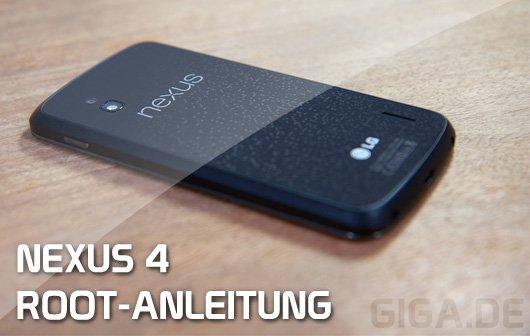 Nexus 4 Root Anleitung (Video)