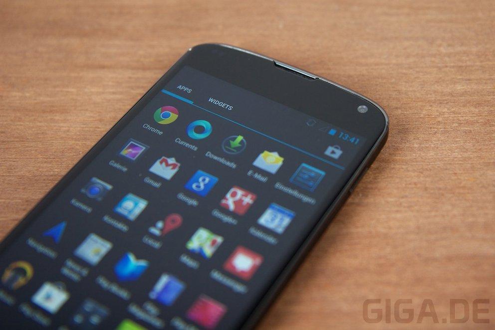 Nexus 4: Mein Setup nach 6 Tagen