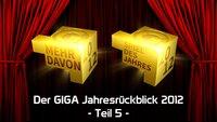 Der GIGA Jahresrückblick 2012: Die besten Spiele des Jahres - Spiel des Jahres 2012 & Mehr davon