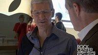 Tim Cook im Interview mit NBC: Zusammenfassung und Videos