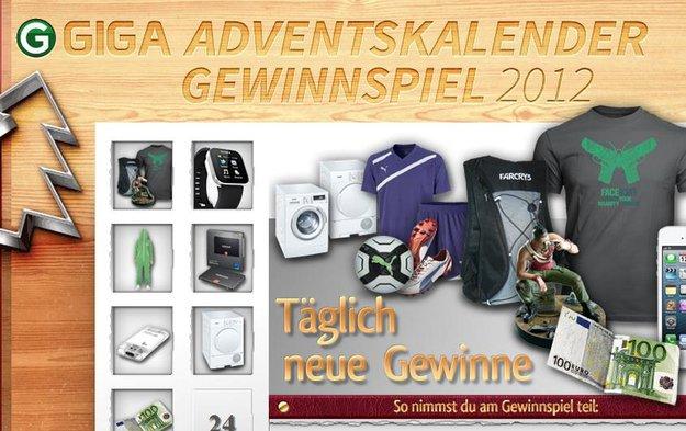 GIGA Adventskalender: Die Gewinner stehen fest