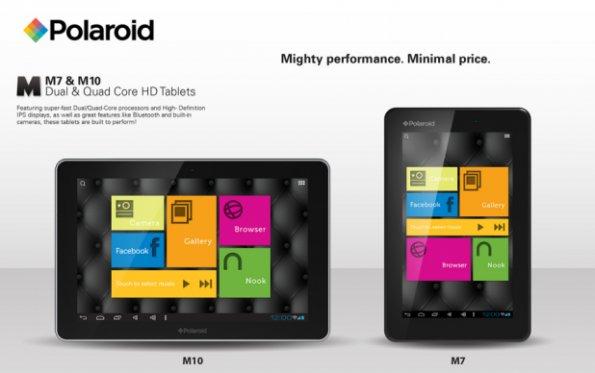CES 2013: Polaroid stellt Konkurrenz für die Nexus-Tablets vor