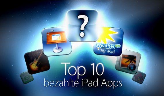 Top iPad-Apps: Die 10 meistgeladenen Anwendungen